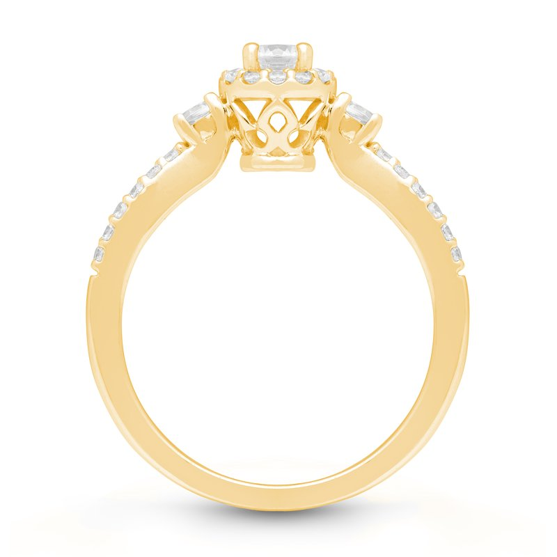 Veer Diamonds PETITE CROWN RING