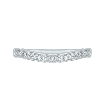14K White Gold Promezza Wedding Band