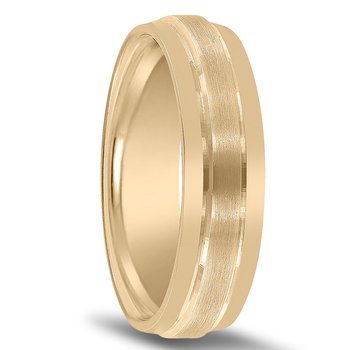 Carved Wedding Band N00150 by Novell