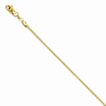 Leslies 14K 1.2mm Wheat