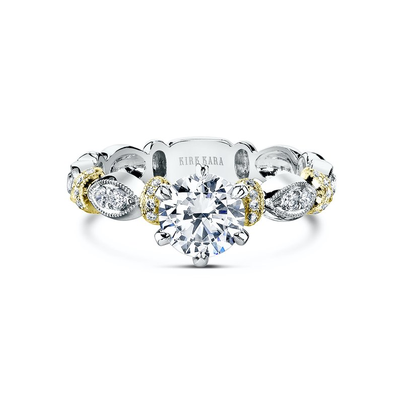 Designer Bar Solitare Engagement Ring