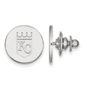 Sterling Silver Kansas City Royals MLB Lapel Pin