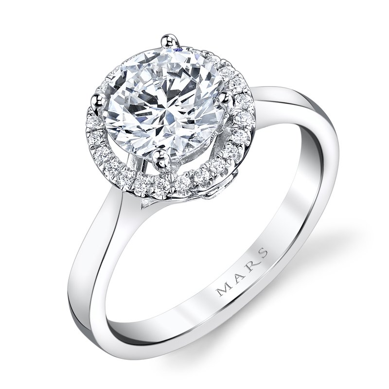 MARS Jewelry - Engagement Ring 25594