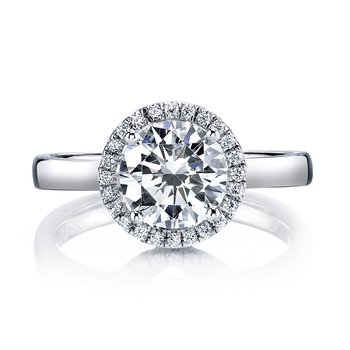 MARS 25594 Diamond Engagement Ring 0.20 Ctw.