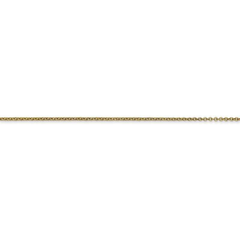Quality Gold 10k .9mm Cable Chain