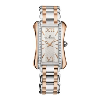 Alacria Queen Stainless 18KRG Diamond Womens Watch