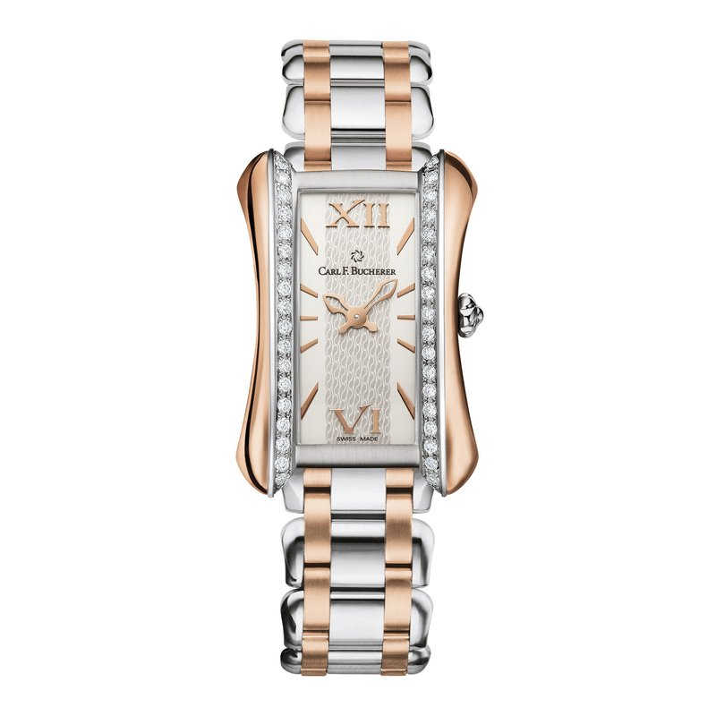 Carl F. Bucherer Alacria Queen Stainless 18KRG Diamond Womens Watch