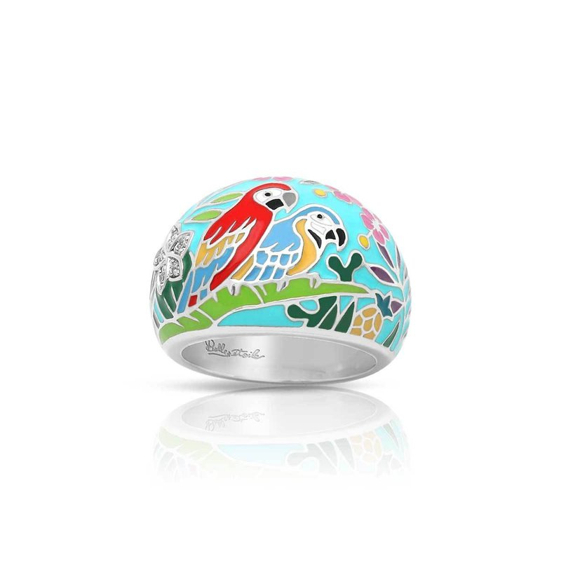 Belle Etoile Macaw Ring