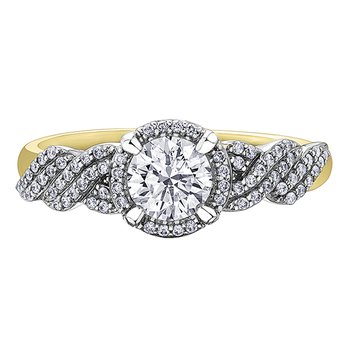 Inuit Ice™ Canadian diamonds Ladies Engagement Ring