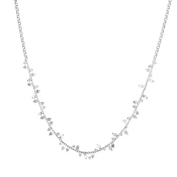 Silver Flora Necklace