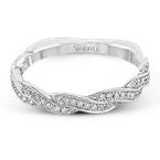 Simon G MR1498-B WEDDING SET