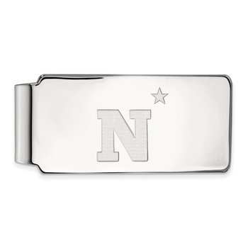 Sterling Silver United States Naval Academy NCAA Money Clip