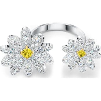 Eternal Flower Open Ring, Yellow, Mixed metal finish