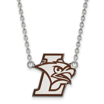 Sterling Silver Lehigh University NCAA Necklace