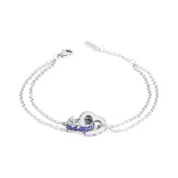 316L stainless steel and crystals Swarovski® Elements.