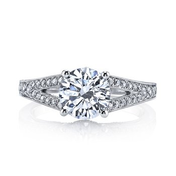26004 Diamond Engagement Ring 0.25 ct tw