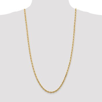 14k 4.5mm D/C Quadruple Rope Chain