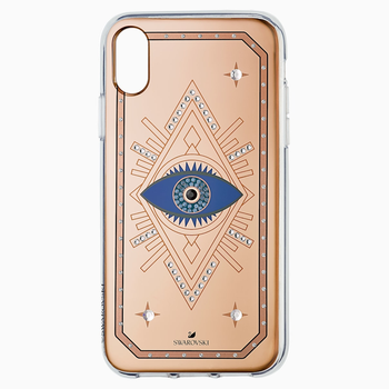 Tarot Eye Smartphone Case, iPhone® XR, Pink Gold