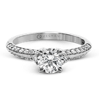 Zeghani ZR1227 ENGAGEMENT RING