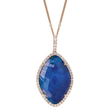 Royal Lapis Fashion Pendant