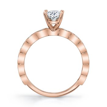MARS 27215 Diamond Engagement Ring, 0.31 Ctw.