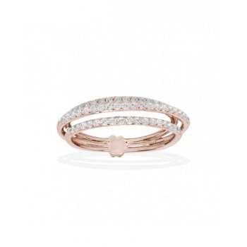 Pink Three Band Ring