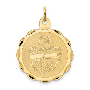 14k ON GRADUATION DAY with Diploma Charm