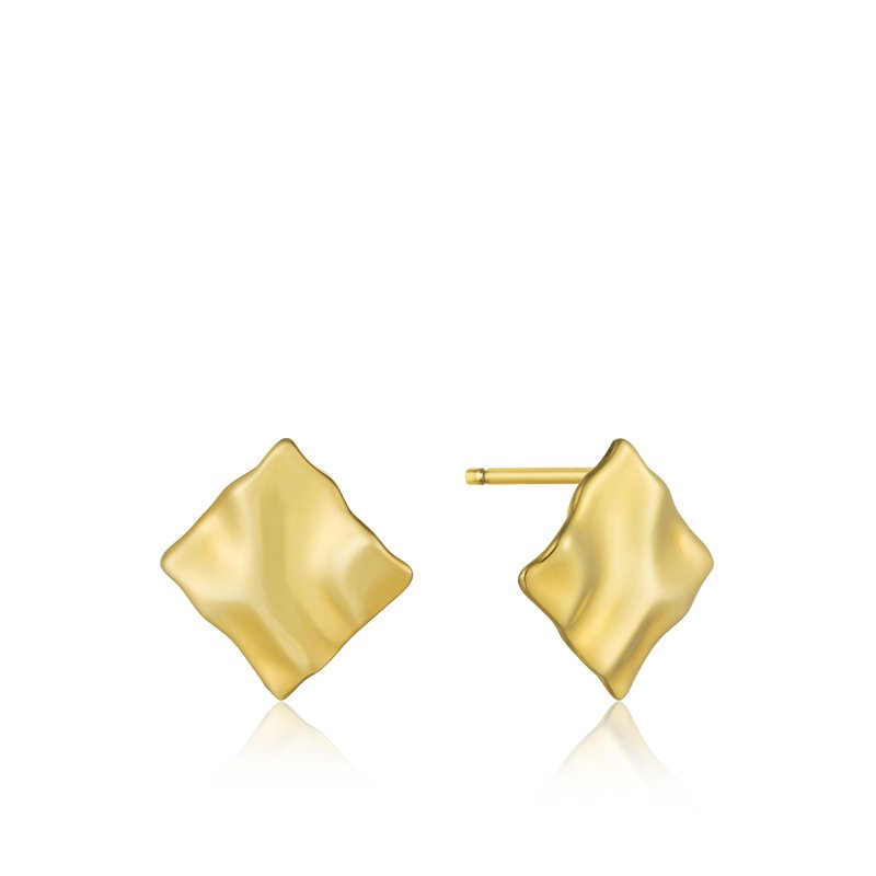 Ania Haie Crush Mini Square Stud Earrings