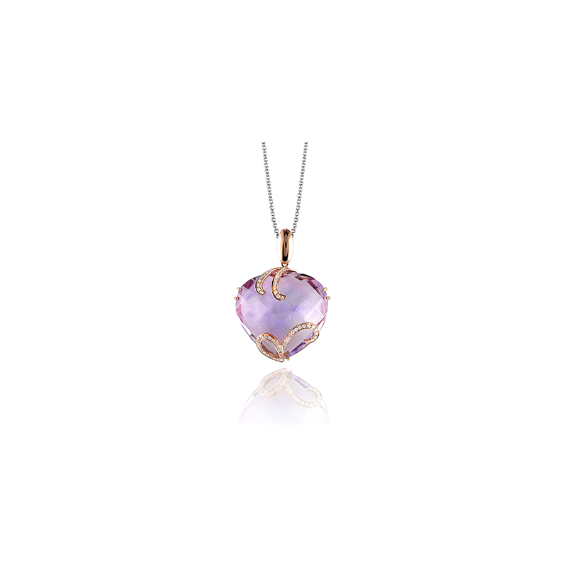 Zeghani ZP396 COLOR PENDANT