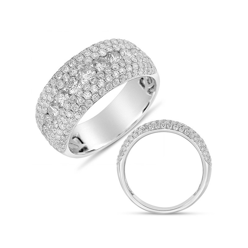 S. Kashi  & Sons White Gold Fashion Diamond Ring