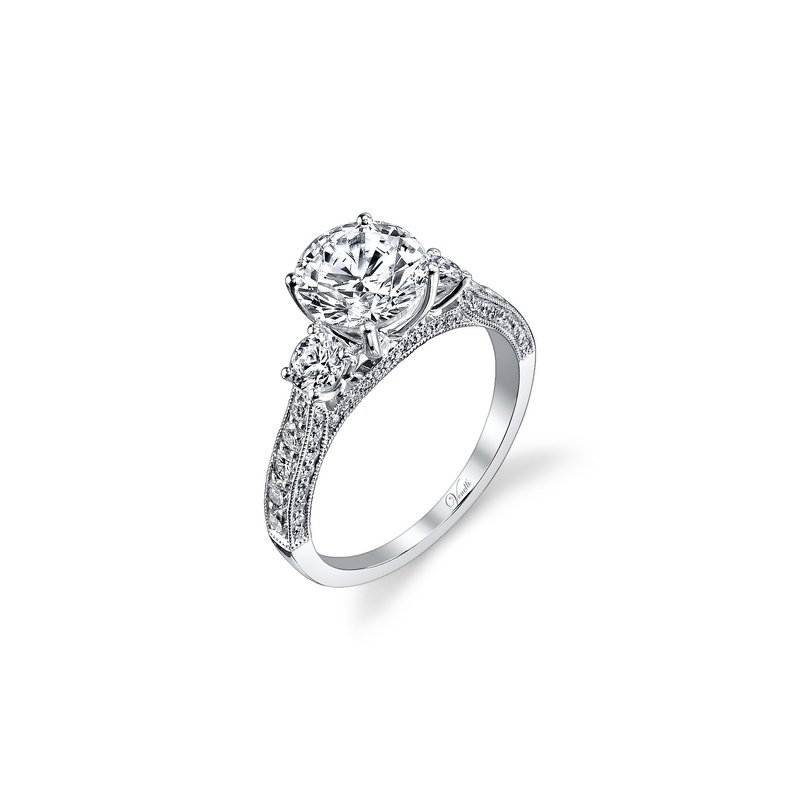 Venetti 14K W RING 70RD 0.90CT