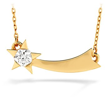 0.15 ctw. Illa Single Diamond Comet Necklace