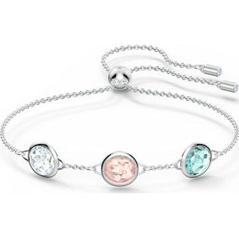 Tahlia Bracelet, Multicolored, Rhodium plated