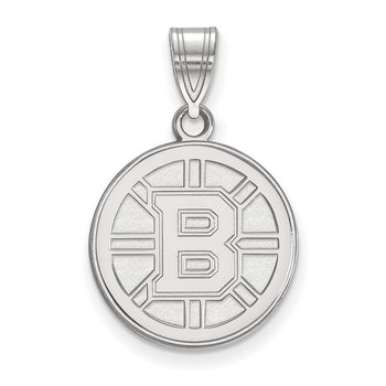 Gold Boston Bruins NHL Pendant