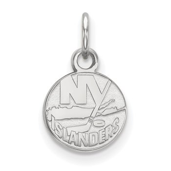 Gold New York Islanders NHL Pendant