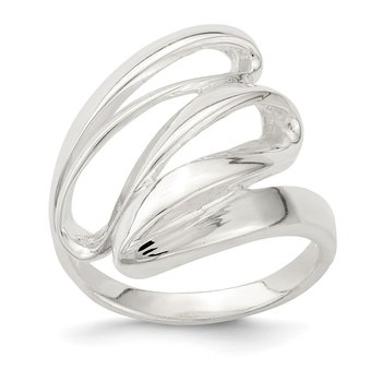 Sterling Silver Fancy Polished Ring