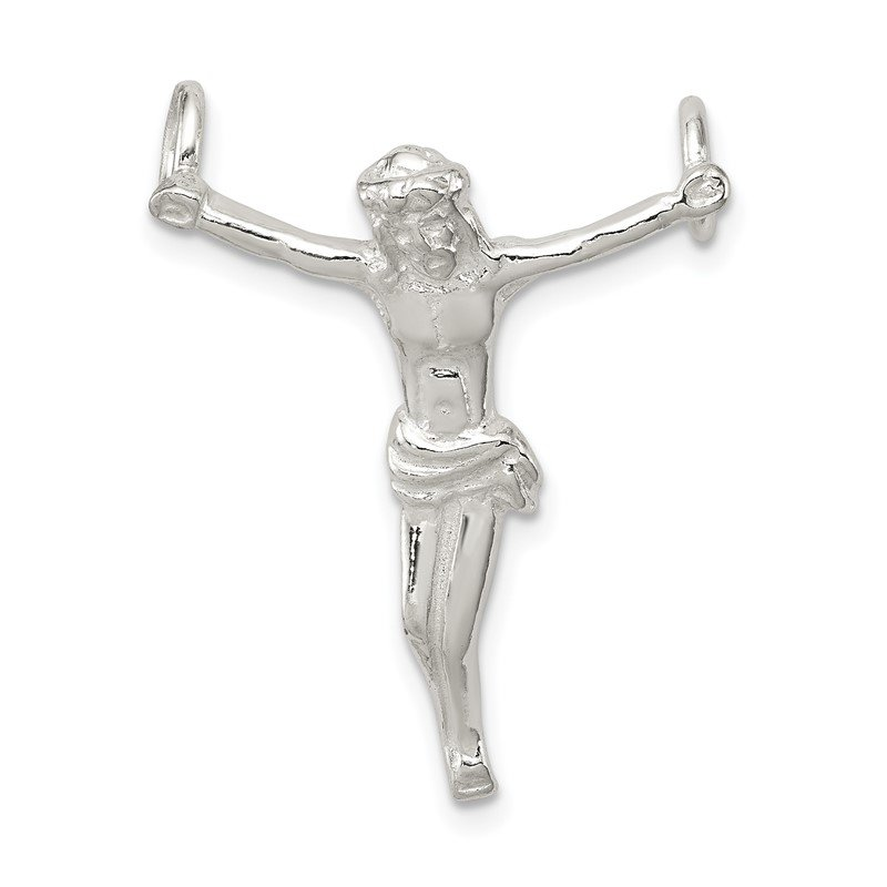 Quality Gold Sterling Silver Corpus (Crucified Christ) Pendant