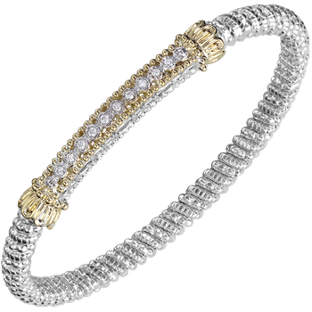 6mm Vahan Bangle with 0.15ctw Diamonds