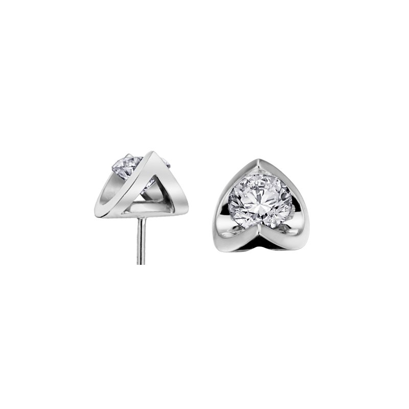 VanValkenburg Collection Diamond Stud Earrings