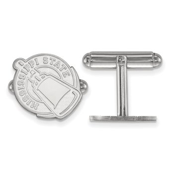 Sterling Silver Mississippi State University NCAA Cuff Links