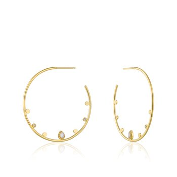 Dream Open Hoop Earrings