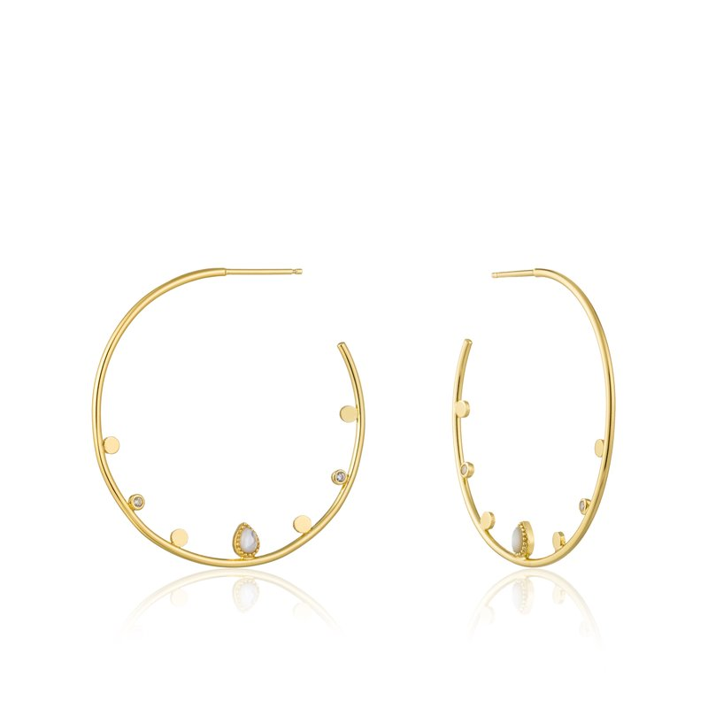 Ania Haie Dream Open Hoop Earrings