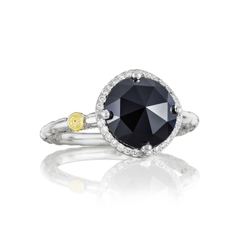 Tacori Fashion Pavé Simply Gem Ring featuring Black Onyx