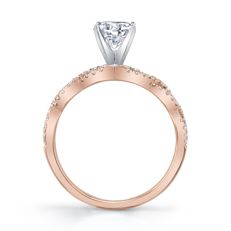 MARS Jewelry MARS 27221 Diamond Engagement Ring, 0.18 Ctw.