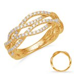 Briana Yellow Gold Matching Band