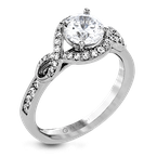 Zeghani ZR1392 ENGAGEMENT RING
