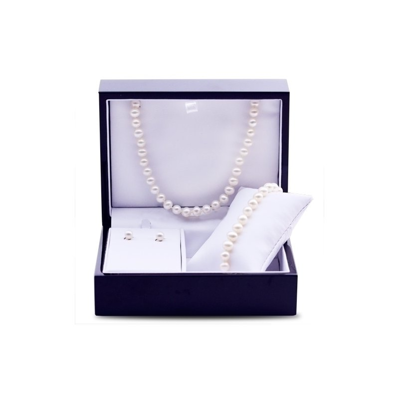 Imperial Pearl 14K Yellow Gold Freshwater Pearl Set