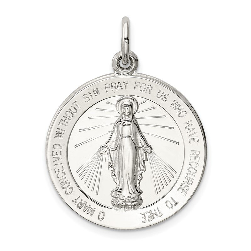 Quality Gold Sterling Silver Miraculous Medal