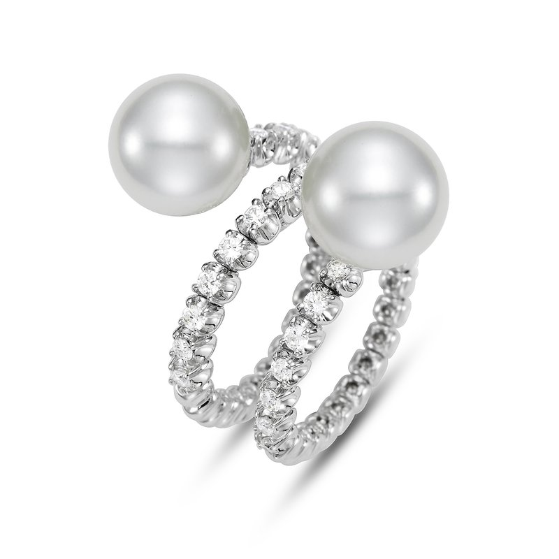 Mastoloni Pearls Amalfi Double Bypass Ring