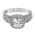 Zeghani ZR978 ENGAGEMENT RING
